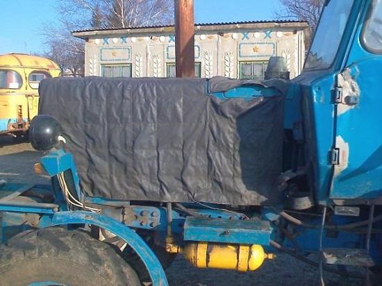 утепляем трактор мтз - советы как утеплить капот МТЗ