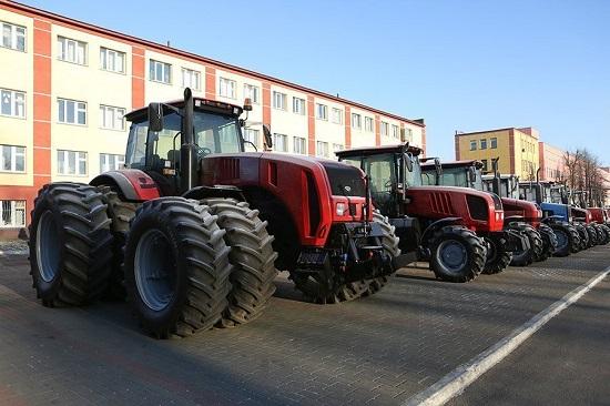 Белорусские трактора на выставке «АгроВятка-2019».