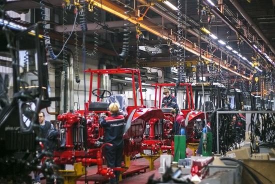 трактора мтз сборочное производство